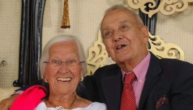 Paret hade levt tillsammans i 75 år.