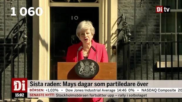 Dagens siffra: 1060 - antalet dagar May varit premiärminister