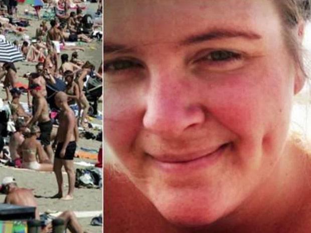 """""""Sorry, alla människor får inte vara på stranden"""""""
