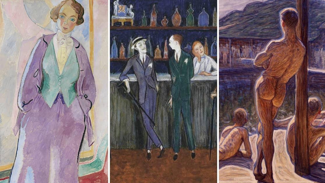 Lesbisk sex målningar