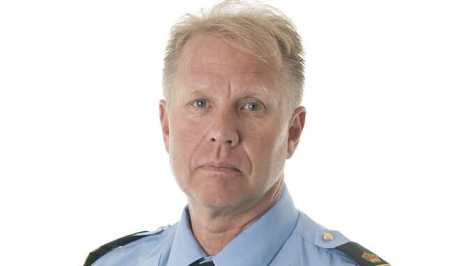 Stefan Gustafsson, presstalesperson hos polisen i region Väst.