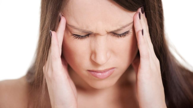 huvudvärk efter mat