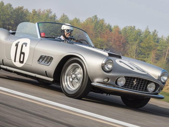1959 Ferrari 250 GT LWB California Spider Competizione by Scaglietti – ett imponerande namn.