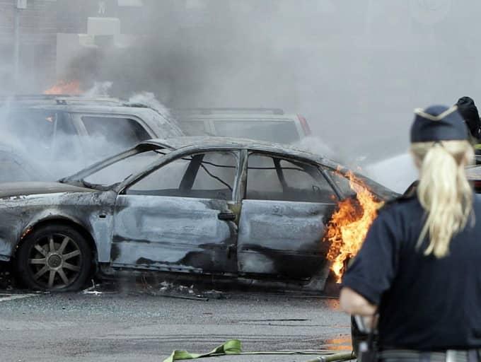 Mehdi Seyyed dömdes för att ha beställt bomberna i Göteborg 2006. På Vasaplatsen sprängdes en bil den 20 september. Mc-ledaren dömdes till sju års fängelse. Foto: Per Wissing