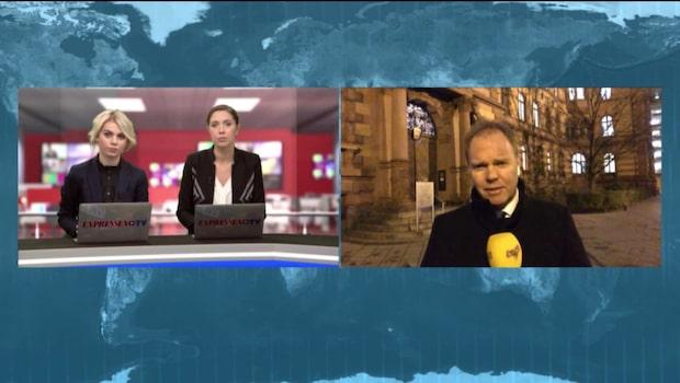 Kristofer Sandberg inför rättegången mot Lasermannen