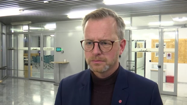 Mikael Damberg (S) om dagens möte med polisledningen i Region syd
