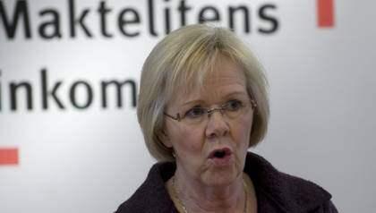LO-ordföranden Wanja Lundby-Wedin får hård kritik från de egna leden för sin roll som styrelsemedlem i AMF med anledning av pengaflytten som pensionsbolagets ledning ägnat sig åt. AMF förvaltar en stor del av de LO-anslutna arbetarnas pensioner. Foto: Scanpix