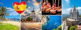 12 bästa resmålen i Spanien