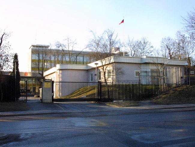 Ryska Ambassaden är värst av alla och står för en femtedel av p-böterna.