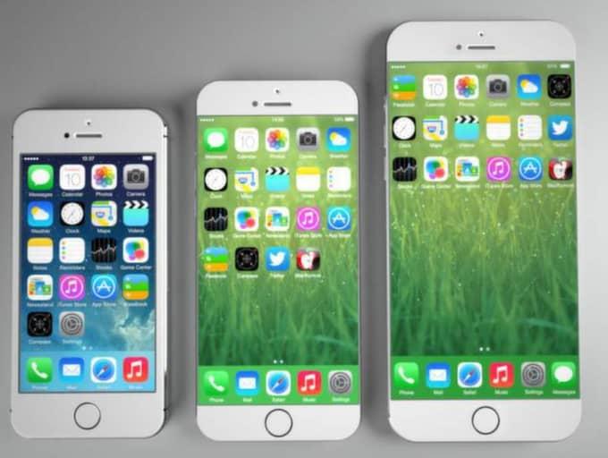 Så här tror den italienska designern Frederico Ciccarese att nya Iphone 6 kommer att se ut. Foto: Federico Ciccarese