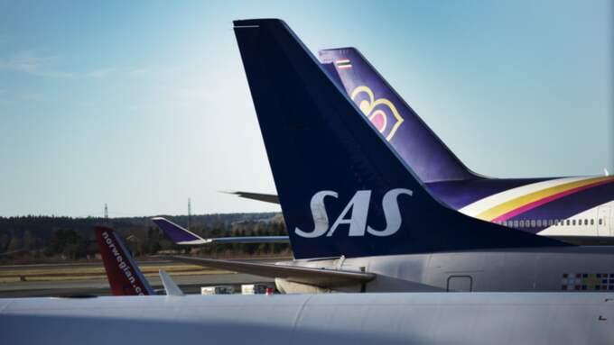 Flera SAS-flyg kan beröras av strejken Foto: Olle Sporrong