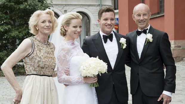 Ingemar Stenmarks dotter Nathalie har gift sig - se hela bröllopet