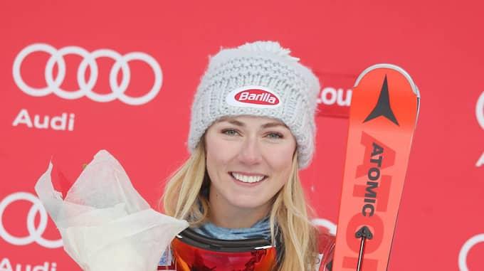 Även Mikaela Shiffrin kan missa OS om hotet blir en realitet. Foto: IMAGO SPORTFOTO / IMAGO/SAMMY MINKOFF IMAGO SPORTFOTODIENST