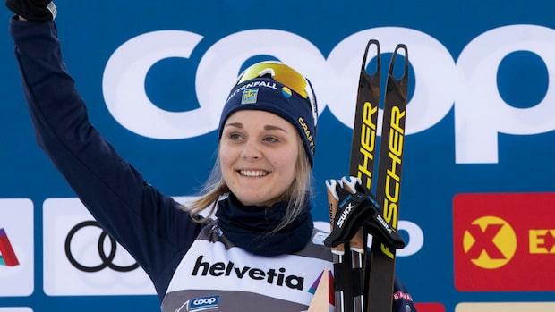 "Stina Nilsson om konkurrensen: ""Inspirerande"""