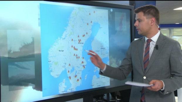 Här brinner det i Sverige – 80 pågående bränder