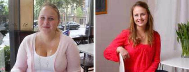 Josefin Larsson bloggar om sin viktresa på josefinlchf.wordpress.com. Hon vill hjälpa andra som vill gå ner i vikt.