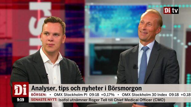 """Sprinchorn och Wendel om börsläget: """"Det finns mycket stress"""""""