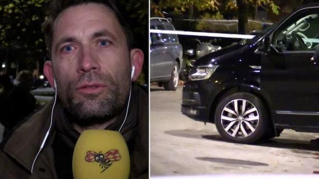 """Expressens utsände i Malmö: """"Människor var skakade"""""""
