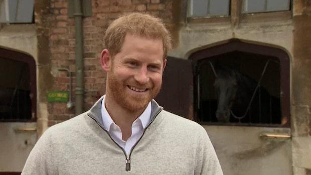 Här berättar Prins Harry om förlossningen