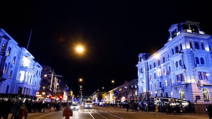 Flera av Göteborgs krogar ligger på Avenyn. Foto: LENNART REHNMAN