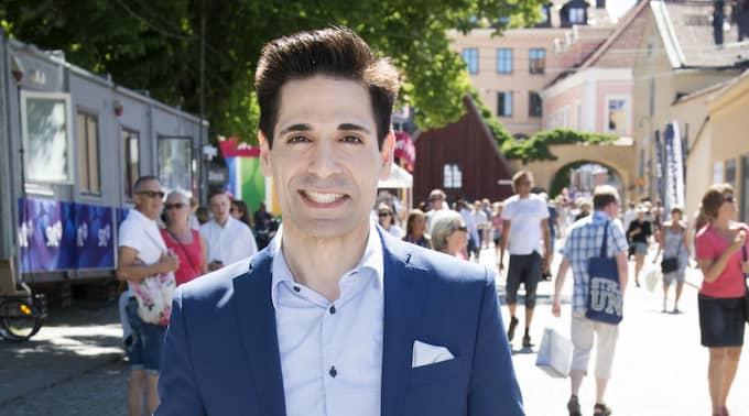 TV4-profilen Marcus Oscarsson är ett skolexempel på hur personer med starka plattformar i sociala medier kan komma undan med lite vad som helst, skriver Karin Olsson. Foto: Sven Lindwall