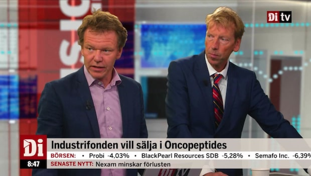 Industrifonden vill sälja i Oncopeptides