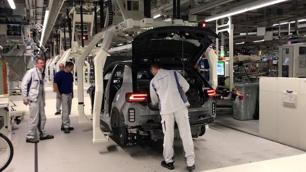 Här byggs Europas största elbilsfabrik