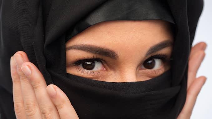 Burka och niqab är människofientligt, skriver artikelförfattarna. Foto: COLOURBOX