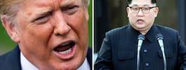 Trump ställer in mötet  med Kim Jong-Un