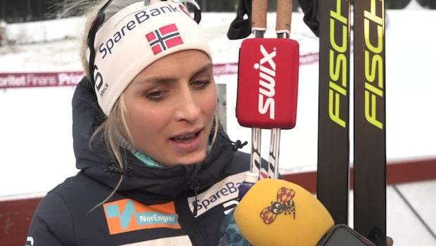 """Johaug hyllar Kalla: """"Hon kommer igen"""""""