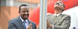 Första flygningarna mellan Etiopien och Eritrea