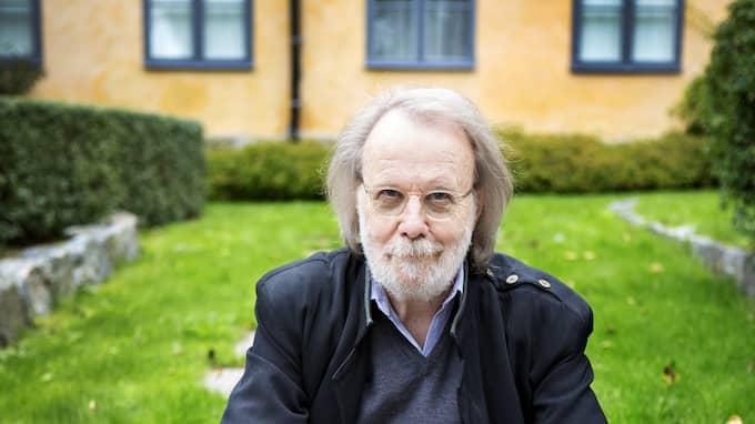 Benny Andersson pensó que se calmaría después de los 70. Foto: PHOTOGRAF ELLINOR COLLIN
