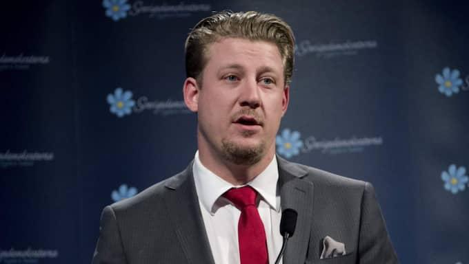 Linus Bylund, SD, har varit den mest betydelsefulla personen inom partiet i kontakterna med kommunikationsbyråerna. Foto: Sven Lindwall