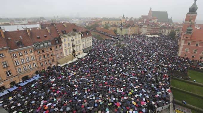Foto: Czarek Sokolowski / AP TT NYHETSBYRÅN