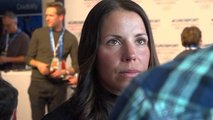 Charlotte Kalla. Foto: Expressen TV.