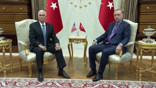 Turkiet och USA har enats om fem dagars vapenvila i Syrien