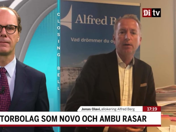 """Olavi: """"Nedgången i Novo klart överdriven"""""""