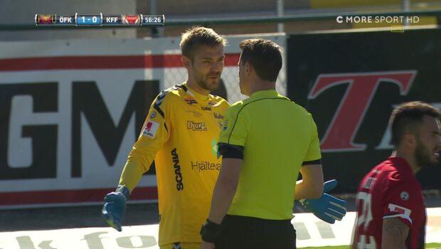 Målvaktens ilska - när Östersund gör 2-0 på straff