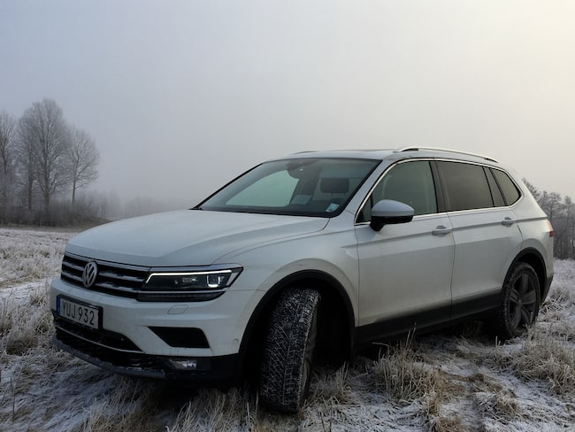 Volkswagens nya Tiguan Allspace  – en fyrhjulsdriven sjusitsig familjefavorit.