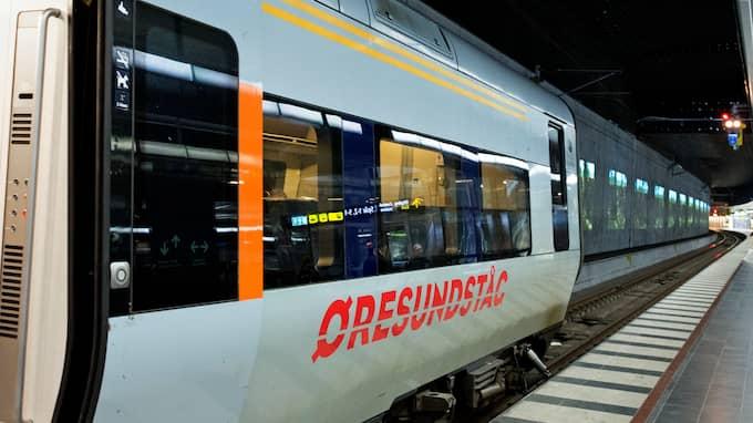 Tåg från Kristianstad är på fredagsmorgonen försenade eller inställda. Foto: LUDVIG THUNMAN / LUDVIG THUNMAN EXPRESSEN