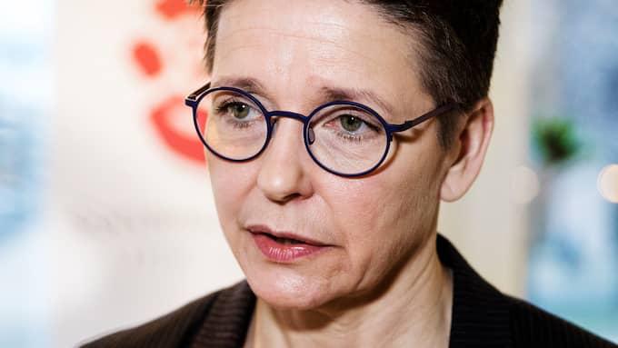 """Ann-Sofie Hermansson, kommunalråd i Göteborg, (S), tycker att arrangemang som den planerade visningen av filmen """"Burka Songs 2.0"""" med efterföljande panelsamtal är oacceptabla. Foto: HENRIK JANSSON / GT/EXPRESSEN"""
