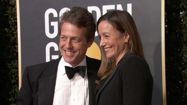 Hugh Grant har gift sig med Anna Eberstein