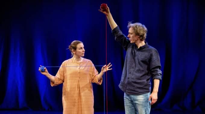 Anna Fahlstedt och Kalle Nilsson. Foto: Jonas jörneberg.