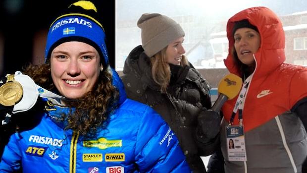 TV: Siffrorna avslöjar - Öberg bäst på VM