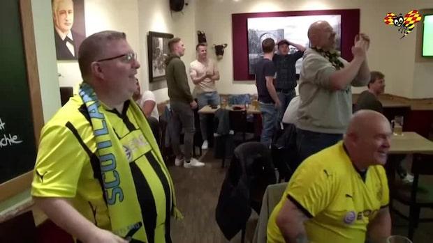 """Dortmund-fansen portade: """"Det känns lite sorgligt"""""""