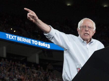 Socialisten som utmanar hillary