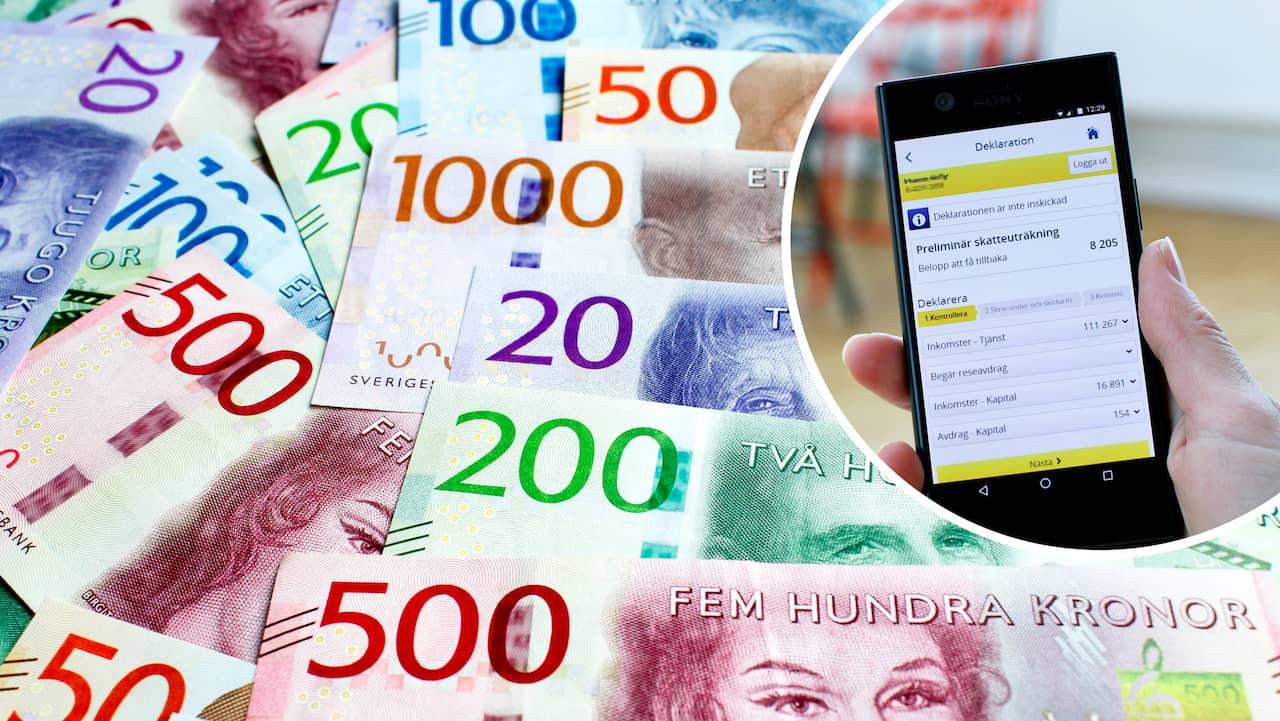 08136f8c39b4 Skatteåterbäring 2019: Nu ramlar skattepengarna in på ditt konto