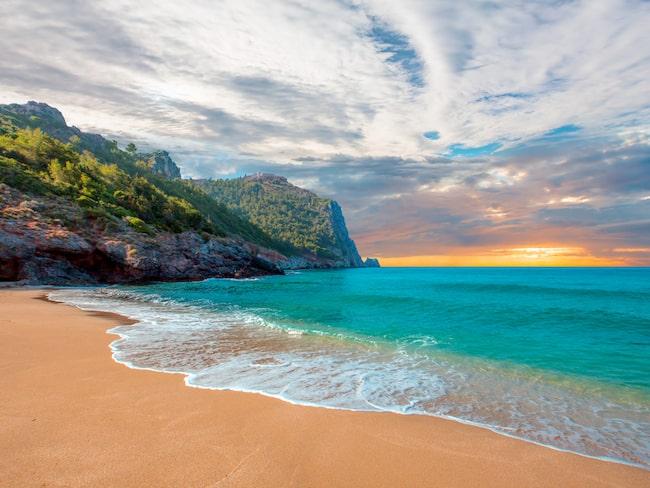 Antalya i Turkiet toppar listan över prisvärda, kvalitativa stränder.