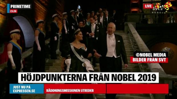 Höjdpunkterna från Nobel 2019