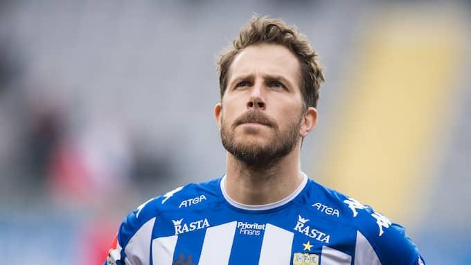 Tobias Hysén. Foto: BILDBYRÅN